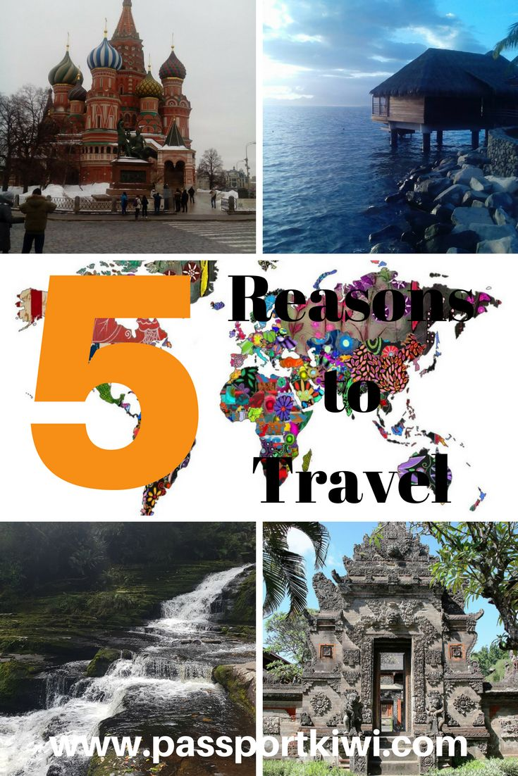 5 Reasons to Travel! I am sure you all don't need anymore reasons but just incase, here are another five reasons why you should be travelling right now! What are you waiting for? Get ticking off that bucket list right now!