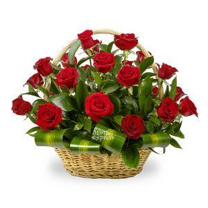 Заказать букет Корзина «Фламенко» в Флора Экспресс