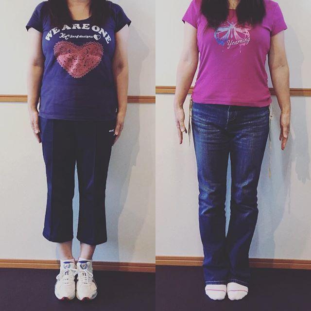 2016/10/29 20:06:35 studiok_mito 【Tさまの集中プラン成果】 3ヶ月の集中プランを終了されたT様。 その成果は・・・ 体重 -11kg  体脂肪率 -8.5%  ウエスト -13.6cm  素晴らしい~  女性は、男性より体重を落としづらいですが、しっかりと11kgもの減量を成功させました(*゚▽゚)ノ  お食事もご自身でしっかりと管理されていて、とても素晴らしい努力家さん !  以前にもダイエットはされたそうですが、今回の方がトレーニングもしっかりと組み込んだことで、周りからは『今の方が締まって見える』と大好評!  これからさらに引き締める! と、やる気に満ち溢れていらっしゃいました(^^) #スタジオK #studiok #茨城 #ibaraki #水戸 #mito #ひたちなか #hitachinaka #フィットネス #fitness #トレーニング #training #スタジオ #studio #パーソナル #personal #ジム #gym #プライベート #初心者 #筋トレ #健康 #ボディメイク #ダイエット #筋肉…