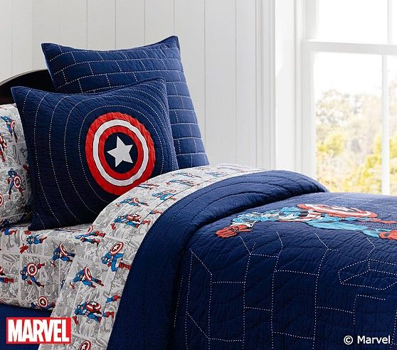 1000 ideas about pottery barn bedrooms on pinterest for Captain america bedroom ideas