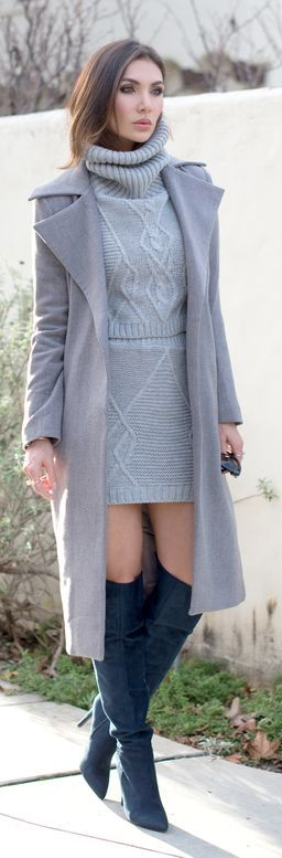 Cable Knit Twin Set