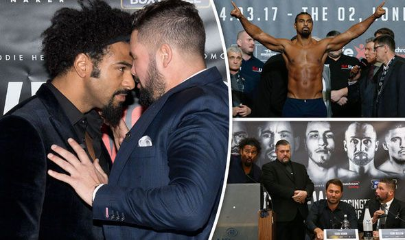 David Haye v Tony Bellew: Why do they hate each other and how did the rivalry develop?