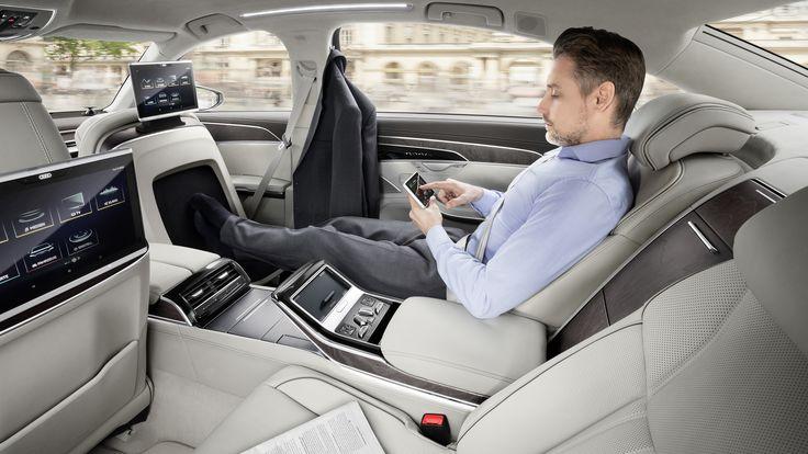 Audi A8 L 2017 D5 Interior