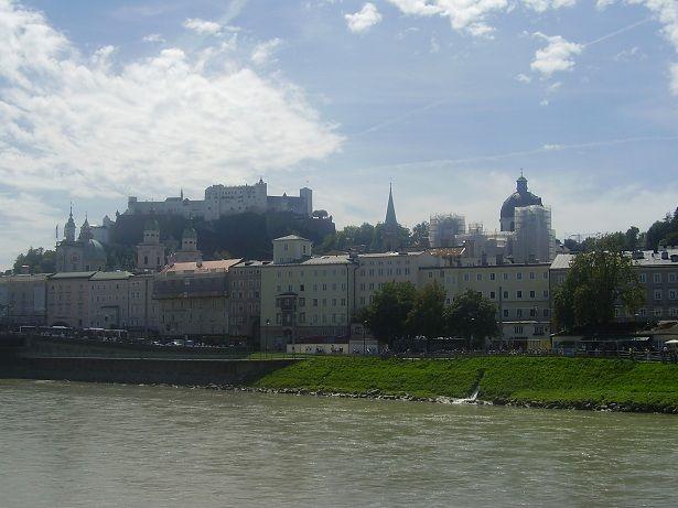 Salzburg Altstadt and Festung Hohensalzburg