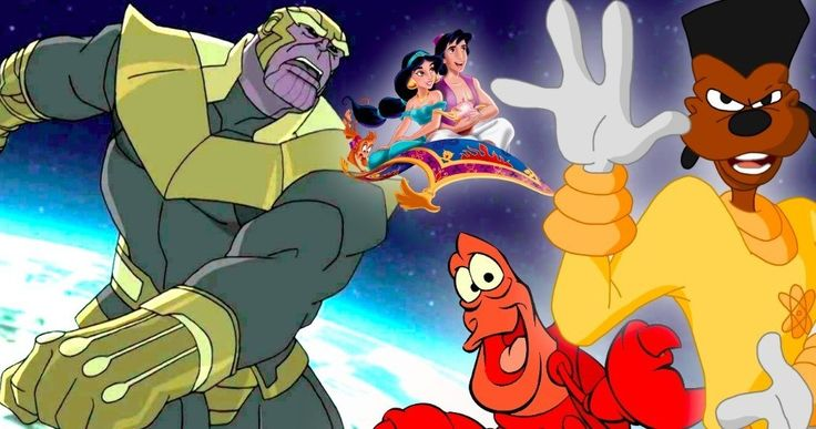 Classic Disney Characters Unite In Avengers: Infinity War Trailer Mashup -- The Avengers: Infinity War trailer has been reimagined using classic, animated Disney characters. -- http://movieweb.com/avengers-infinity-war-animated-disney-characters-trailer-mashup/