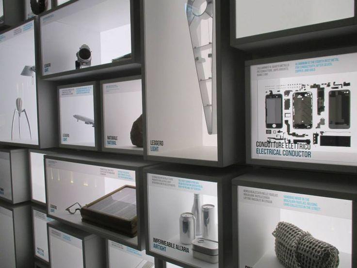 Sezione Alluminio - Museo Nazionale della Scienza e Tecnologia Leonardo Da Vinci - Milano - Krea allestimento e grafiche