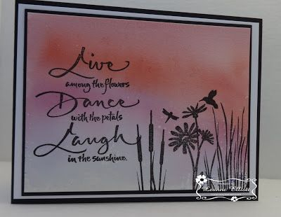 ONECRAZYSTAMPER.COM: Water Color Paper Background Tutorial Feb 22, 2016