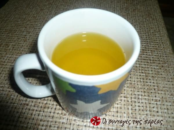 Τσάι με σαφράν #sintagespareas