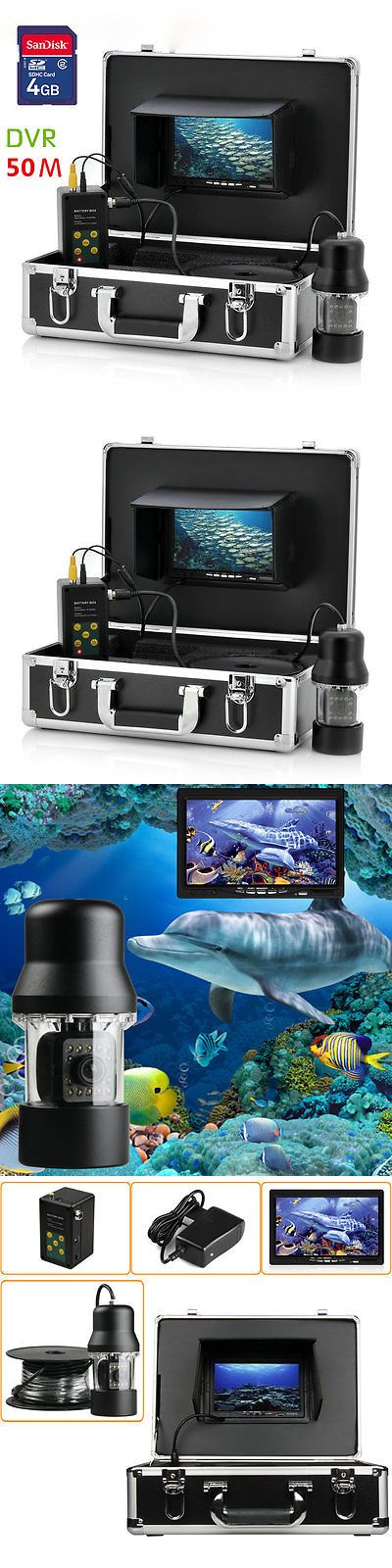 Underwater Cameras 180000: 50M 7 Tft Dvr Recorder Underwater Fishing Camera System Video Fishing Camera BUY IT NOW ONLY: $371.99