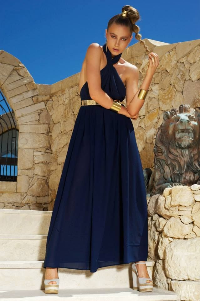 Larissa dress navy