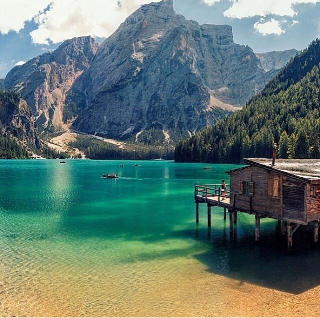 Lake Prags, Italy