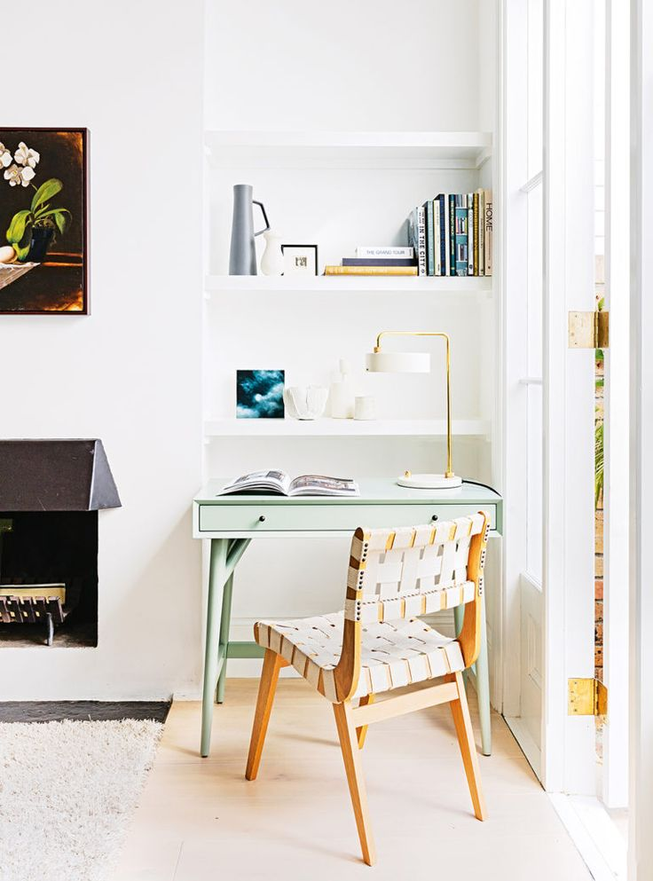 Small work space in an inner city terrace house.