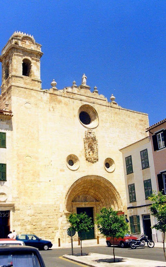 Menorca Iglesia De S Fco En Mahón Menorca Edificios Iglesia
