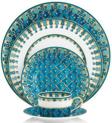 J Seignolles Petrouchka turquoise 2  sc 1 st  Pinterest & 164 best Teal turquoise aqua dinnerware images on Pinterest   Dishes ...