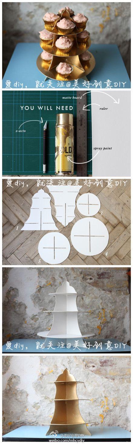 DIY Cake Tray DIY Projects | UsefulDIY.com