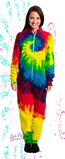 Reactive Rainbow - Adult and Youth Tie Dye Onesies