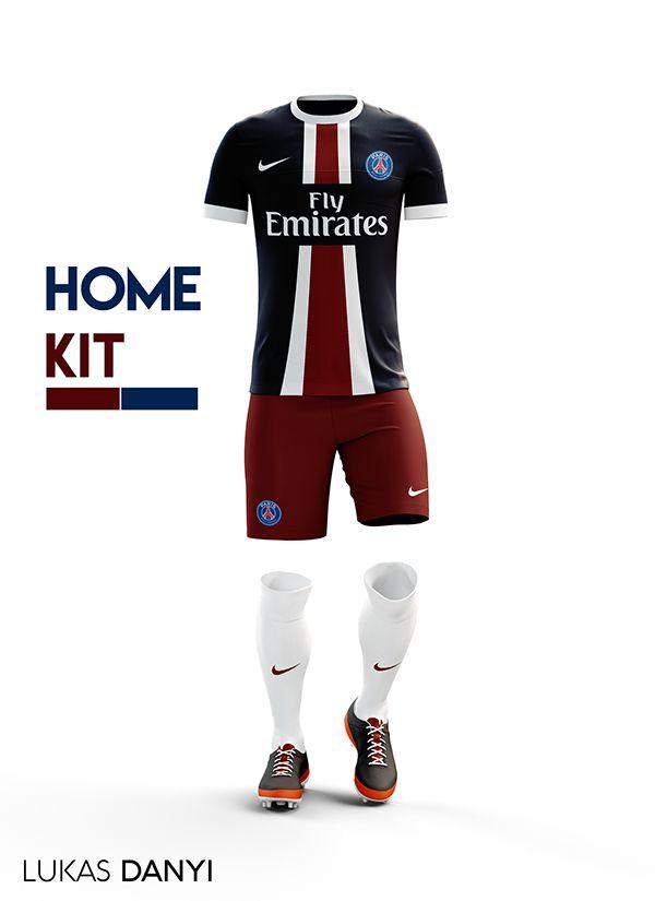 8879cf14 I designed football kits for Paris Saint-Germain for the upcoming season  16/17.