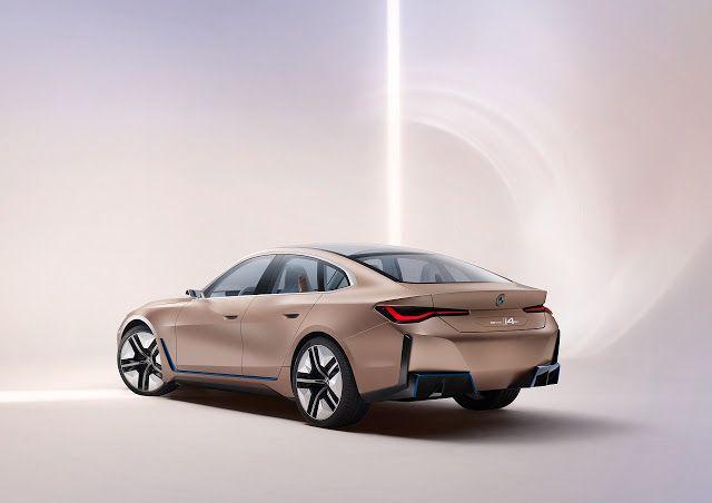 Bmw Concept I4 Exterior Interior Design Introduction In 2020 Bmw Concept Bmw Bmw Design