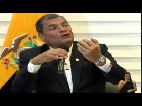 Rueda de prensa del Presidente Rafael Correa Delgado 12/08/2015