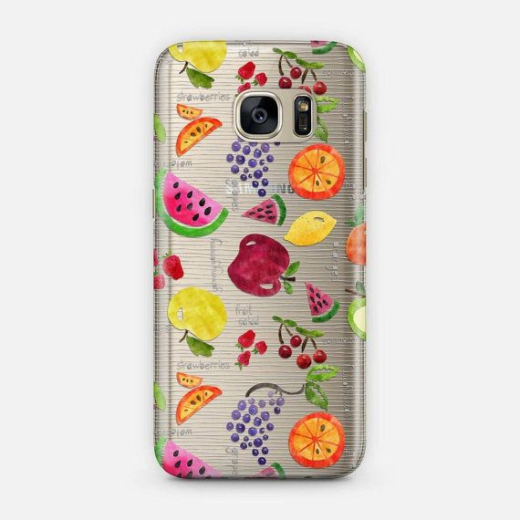 This trendy phone case features a super cute fruit pattern on a transparent background. AVAILABLE DEVICE SIZES: iPhone 7 Plus iPhone 7 iPhone SE iPhone 6S Plus iPhone 6S iPhone 6 Plus iPhone 6 iPhone 5/5S iPhone 5C iPhone 4/4S Samsung Galaxy 7 Samsung Galaxy 7 Edge Samsung Galaxy 6 Samsung Galaxy 6 Edge Samsung Galaxy 5 Samsung Galaxy Note 7 Samsung Galaxy Note 5 Samsung Galaxy Note 4 Samsung Galaxy Note 3  TRANSPARENT CASE FEATURES: These transparent, slim cases are made from impact…