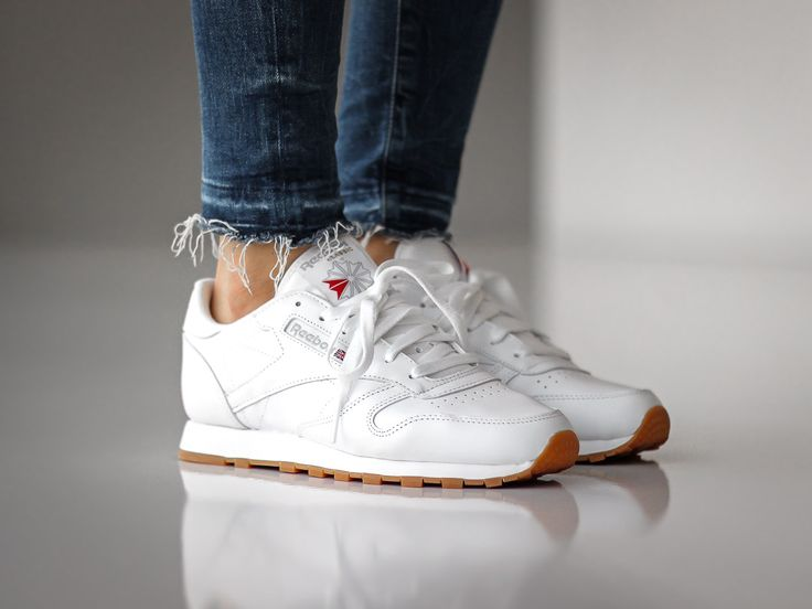 reebok classic leather gum sole