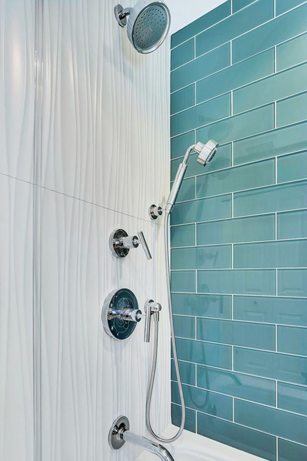 Bathroom Tile Ideas In 2020 Tile Bathroom Blue Bathroom Accents Modern Bathroom Tile
