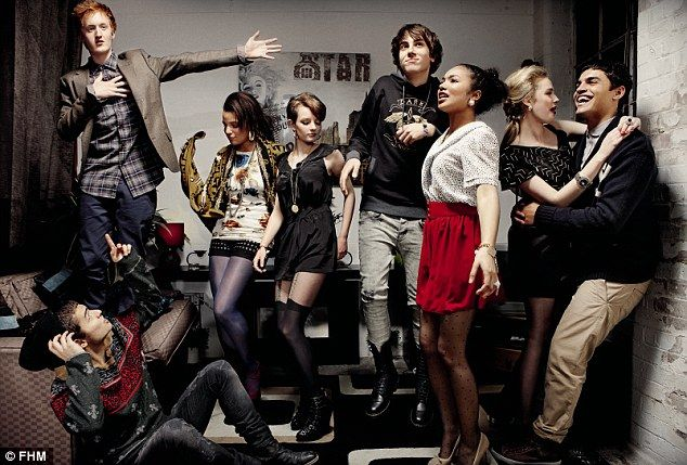 skins cast from season 5