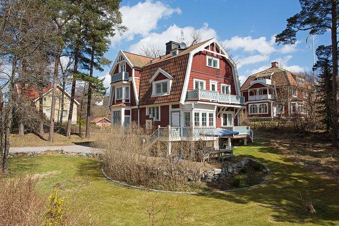 Bild 5: 8 rum villa på Kyrkvägen 4B, Danderyds kommun Stocksund