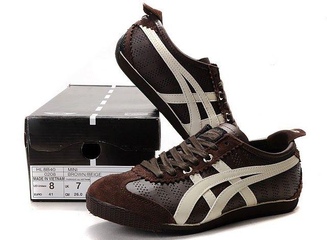 womens onitsuka mini cooper Womens Onitsuka Tiger MINI Cooper CLUBMAN Shoes (Brown/ Beige ...