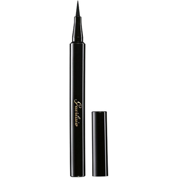 Guerlain Felt Eyeliner L'Art du Trait found on Polyvore featuring beauty products, makeup, eye makeup, eyeliner, guerlain eyeliner and guerlain