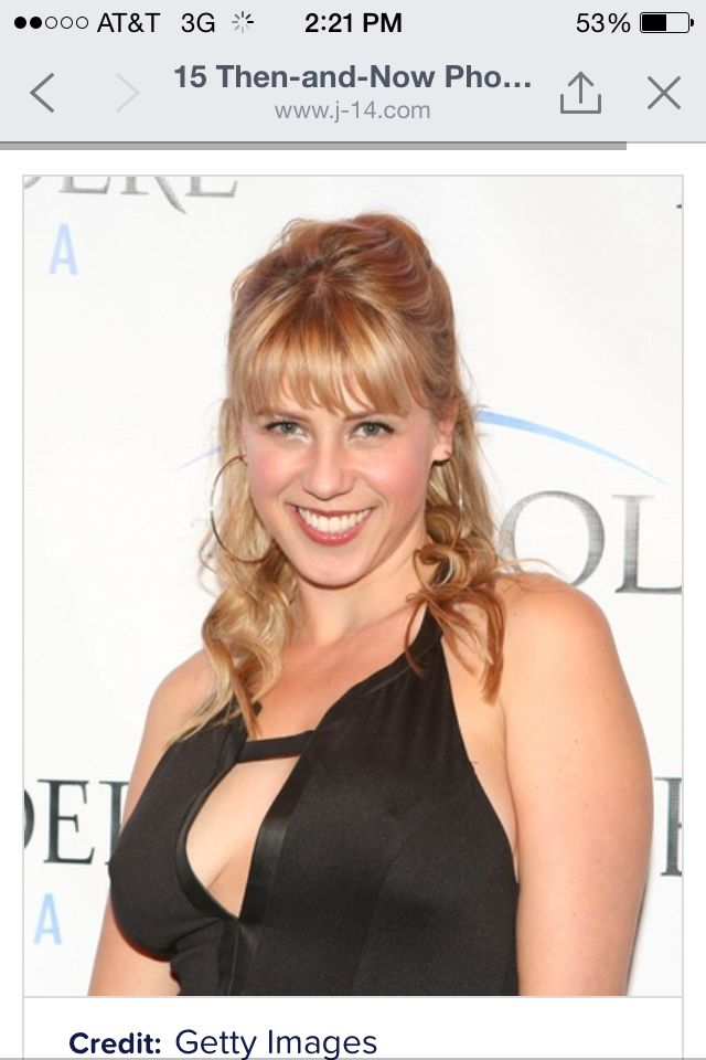 Stephanie from full house now!