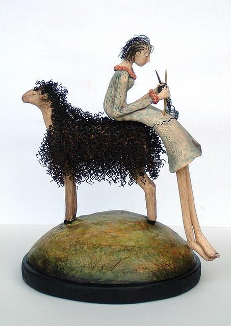 Symbiosis - sculpture by Kathleen Stoltzfus