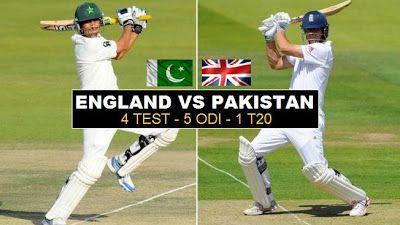 #Pakistan vs #England #Cricket Series 2016 Has Been Announced