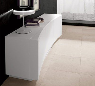 A beautifully curved design for flow and energy in the room