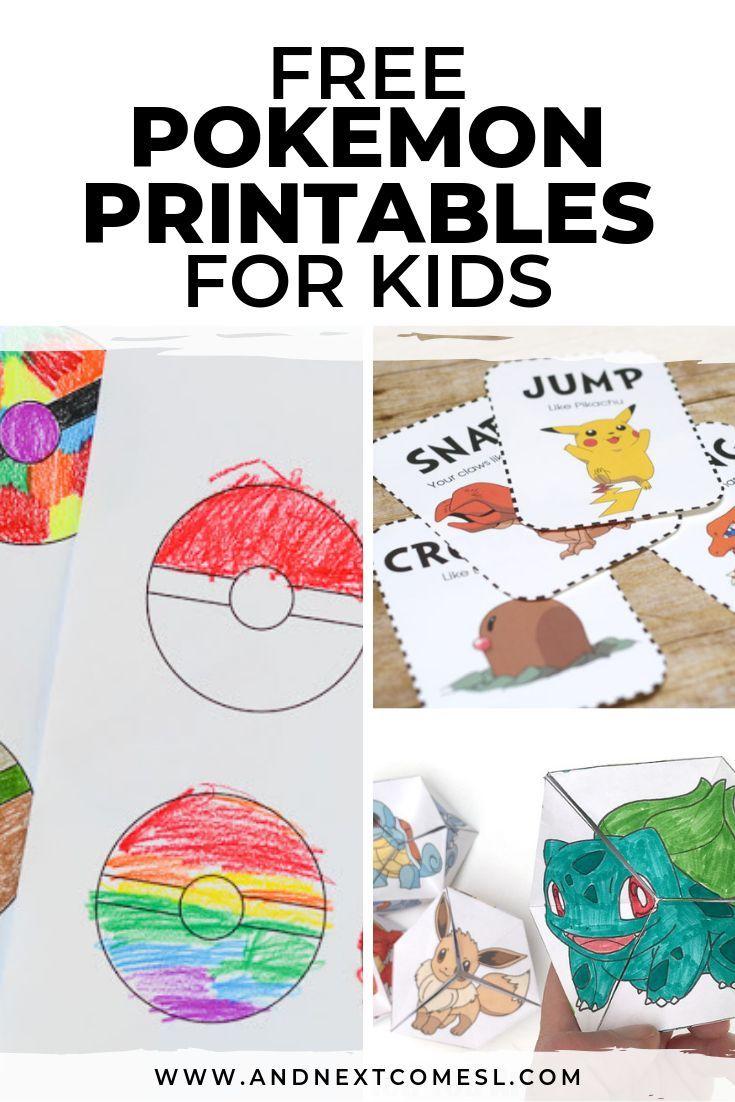 Free Pokemon Printables For Kids Pokemon Printables Pokemon Games For Kids Printable Activities For Kids [ 1102 x 735 Pixel ]