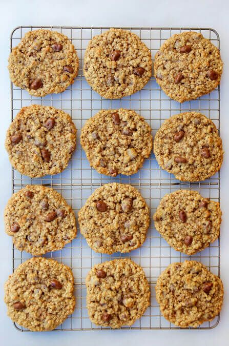 Kick up a classic cookie with a quick and easy recipe for Oatmeal Chocolate-Covered Raisin Cookies!