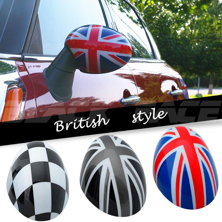 MINI Юнион Джек Зеркало крышка cooper clubman countryman F56 F55 мини-автомобиль зеркало Декоративные Британской mini cooper зеркальной крышкой