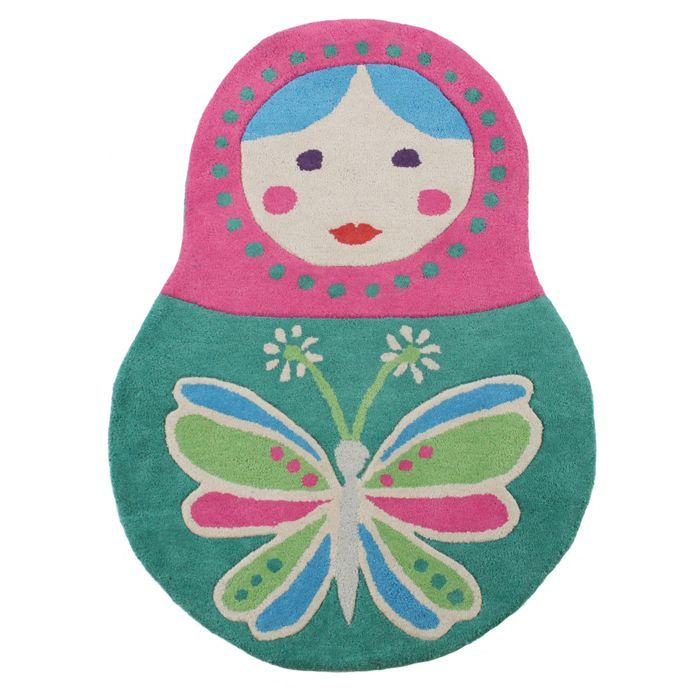 Erfly Home By Matthew Williamson Russian Doll Rug At Debenhams Mobile Charlotte S Bedroom Pinterest Dolls Rugs And