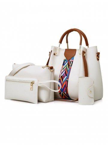 451e3eedeadf 4 Pieces Daily Shopping Tote Bag Set