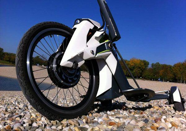 S3tr: een opvouwbaar elektrisch voertuig waarmee je niet voor lul staat