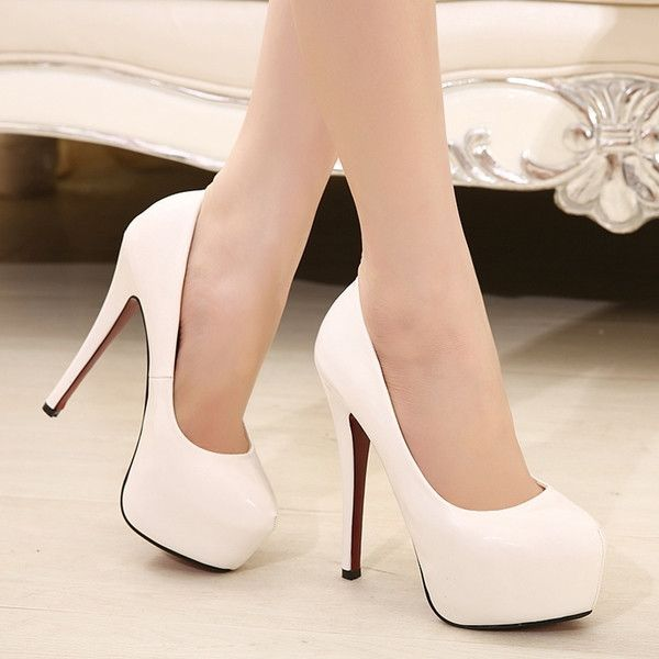 - Stylish candy pump stiletto heels for the trendy woman - Lovely design perfect for any occasion - Made from PU - 16 cm heel height - 6 cm platform - Available in 2 styles