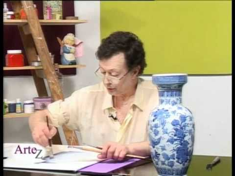 Cómo pintar un jarrón en óleo