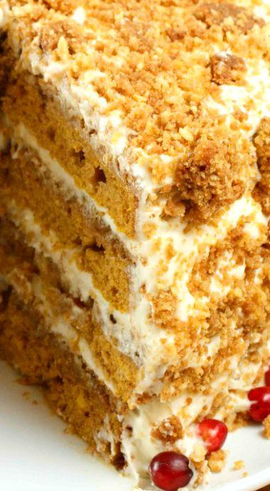 Pumpkin Crunch Cake | Recipe | Pumpkins, Pumpkin crunch ...
