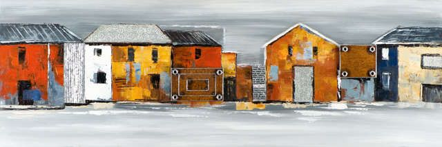 New+Life+Collection+-+Die+Farben+Grönlands+2+-+handgemaltes+Leinwandbild+günstig+kaufen+-+auch+auf+Rechnung!