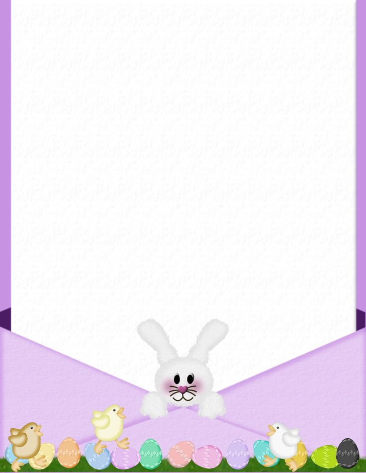 104 best images about easter stationery on pinterest for Letter to easter bunny template