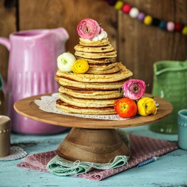 pfannkuchen aus zitronenbuttermilch (zuckerzimtundliebe.wordpress.com)