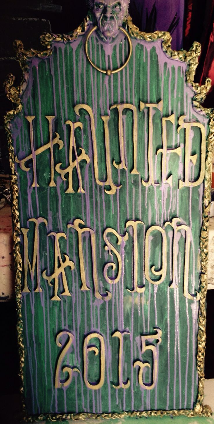 364 best Disney Haunted Mansion Party props images on Pinterest