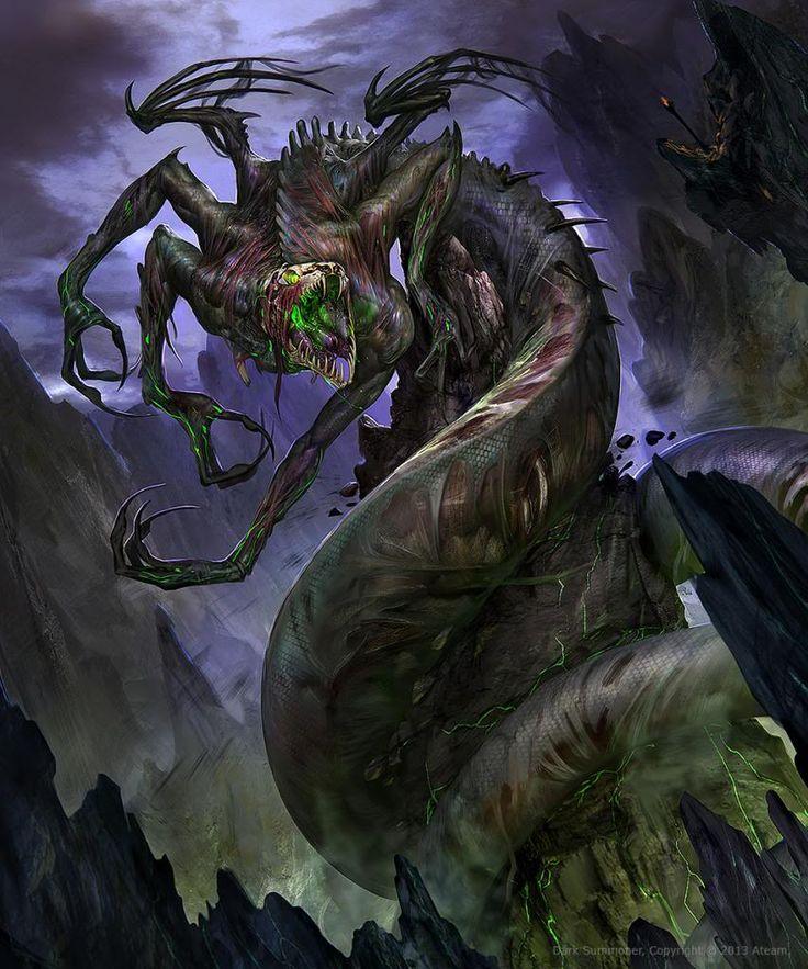 Картинки сверхъестественных существ