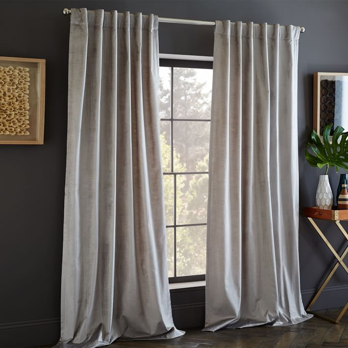 Pinch Pleat Voile Curtains