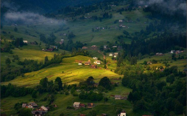 Carpathian Mountains Ukraine HD Wallpaper